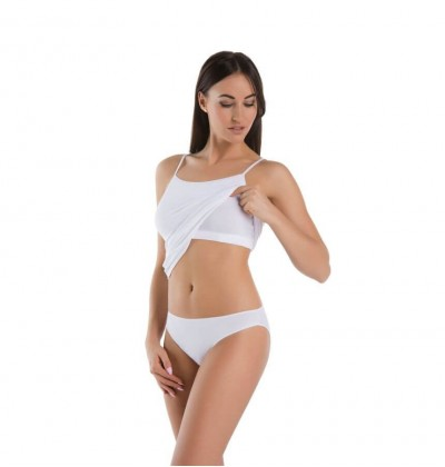 Women shirt bra small white front Teyli