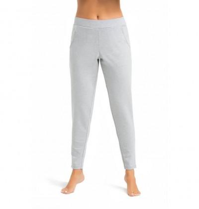 Piżama spodnie damskie Floria szare przód Teyli