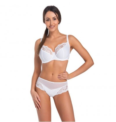 Women's Bra Exclusive white front Teyli