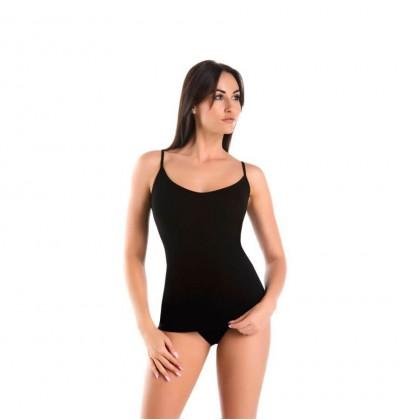 Women top Melisa V black front Teyli