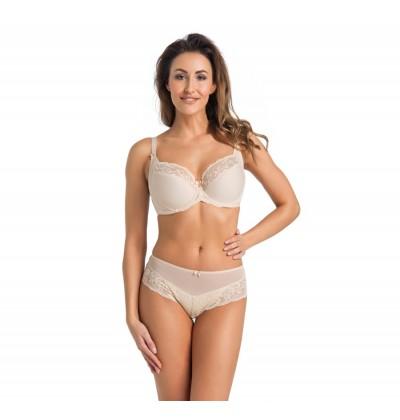 Women's bra Amelia beige front Teyli