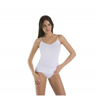 Women top Melisa V white front Teyli