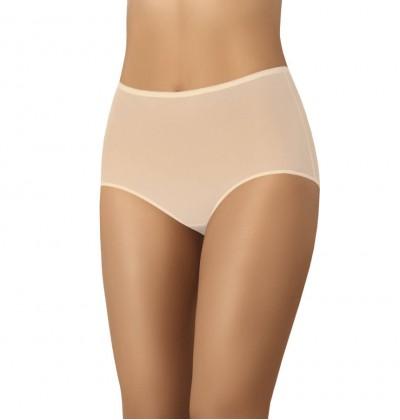 Women's high briefs Retro beige front Teyli