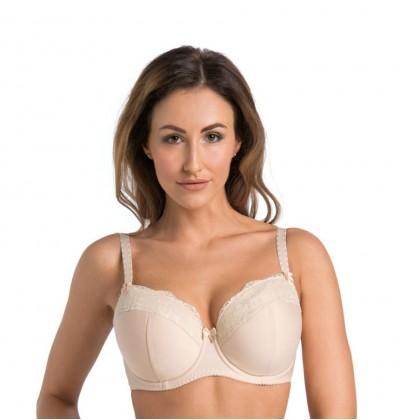 Marte padded bra with underwire beige