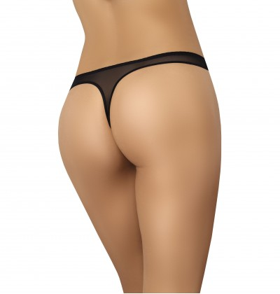 Women's thongs Ero black back Teyli