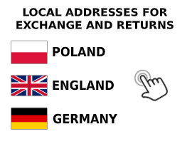 local addresses for exchange and returns